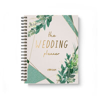 Carpe Diem - Wedding - Spiral Planner with Foil Accents
