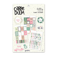 Carpe Diem - Wedding - Sticker Book