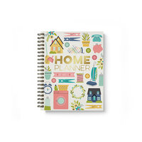 Carpe Diem - Home - Spiral Planner with Foil Accents