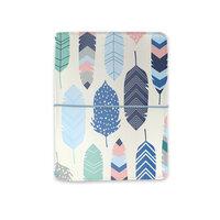 Carpe Diem - A6 Traveler's Notebook and Passport Holder - Feathers
