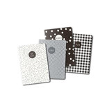Carpe Diem - A6 Traveler's Notebook Refill - Monochrome - 4 Pack