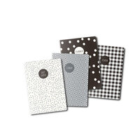 Carpe Diem - A6 Traveler's Notebook Refill - Monochrome - 4 Pack