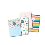 Carpe Diem - A6 Traveler's Notebook Refill - Hearts - 4 Pack