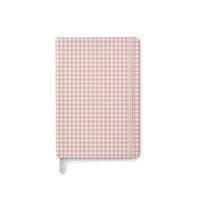 Carpe Diem - Traveler's Notebook - Soft Journal Cover - Ballerina Pink Check