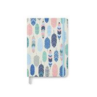 Carpe Diem - Traveler's Notebook - Soft Journal Cover - Feathers