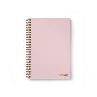 Carpe Diem - B5 Hardcover Notebook - Ballerina Pink