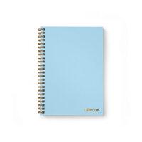 Carpe Diem - B5 Hardcover Notebook - Sky Blue