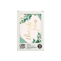 Carpe Diem - Wedding - A6 Thank You Cards and Envelopes