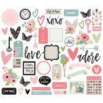 Simple Stories - Romance Collection - Bits and Pieces