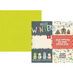Simple Stories - Sub Zero Collection - 12 x 12 Double Sided Paper - 4 x 6 Horizontal Elements