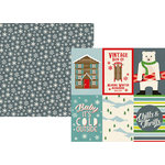 Simple Stories - Sub Zero Collection - 12 x 12 Double Sided Paper - 4 x 6 Vertical Elements