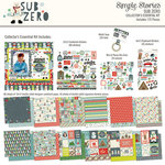 Simple Stories - Sub Zero Collection - 12 x 12 Collectors Essential Kit