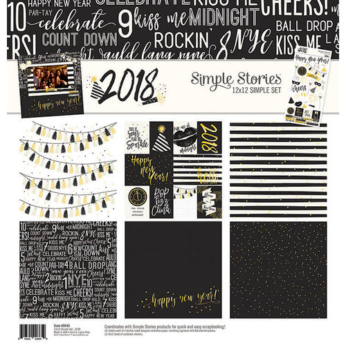 Simple Stories - 2018 Collection - 12 x 12 Collection Kit