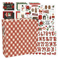Simple Stories - Jingle All The Way Collection - December Days - 6x8 Album Kit - 195 Piece Bundle