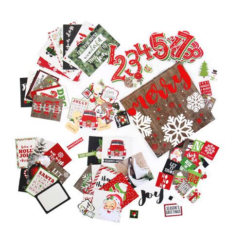 Historias simples - Días de diciembre 2017 - Kit de álbum - Paquete completo