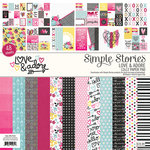 Simple Stories - 12 x 12 Paper Pad - Love and Adore