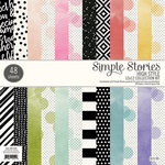Simple Stories - 12 x 12 Paper Pad - High Style