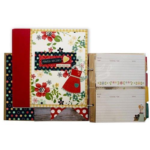 Simple Stories - Homespun Collection - Recipe Binder Class Kit