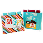 Simple Stories - SNAP Studio Collection - Keep Calm and SNAP On Tote Bag