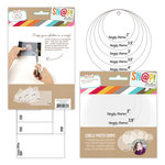 Simple Stories - SNAP Studio Collection - Photo Crops - Cricles and Squares - 10 Pack Set