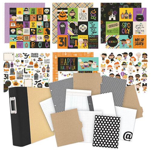 Simple Stories - Say Cheese Halloween - Album Kit - 116 Piece Bundle