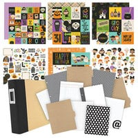 Simple Stories - Say Cheese Halloween - Album Kit - 116 Piece Bundle