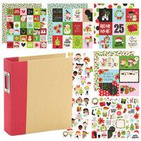 Simple Stories - Say Cheese Christmas - Album Kit - 112 Piece Bundle
