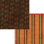 Moxxie - Autumn Glory Collection - 12 x 12 Double Sided Paper - Season's Beauty