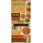 Moxxie - Autumn Glory Collection - Cardstock Stickers