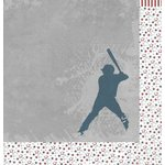 Moxxie - All Star Baseball Collection - 12 x 12 Double Sided Paper - Home Run