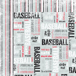 Moxxie - Grand Slam Collection - 12 x 12 Double Sided Paper - Outfield