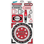 Moxxie - Grand Slam Collection - Cardstock Stickers - Elements