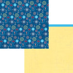 Moxxie - Bon Voyage Collection - 12 x 12 Double Sided Paper - Smooth Sailing