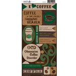 Moxxie - Coffee Addict Collection - Cardstock Stickers - Coffee