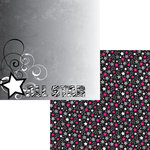 Moxxie - Cheerleading Collection - 12 x 12 Double Sided Paper - All Star