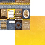 Moxxie - Country Chic Collection - 12 x 12 Double Sided Paper - Country Cutouts