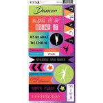 Moxxie - Dance Life Collection - Cardstock Stickers