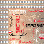 Moxxie - Doctor Doctor Collection - 12 x 12 Double Sided Paper - Perfect Smile