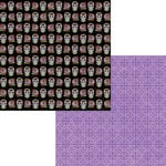 Moxxie - Day of the Dead Collection - Halloween - 12 x 12 Double Sided Paper - Sugar Skulls