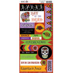 Moxxie - Day of the Dead Collection - Halloween - Cardstock Stickers