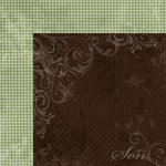 Moxxie - Forever Family Collection - 12 x 12 Double Sided Paper - Son