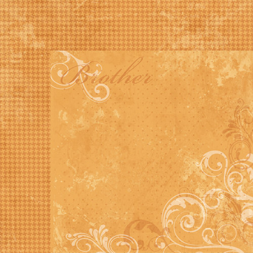 Moxxie - Forever Family Collection - 12 x 12 Double Sided Paper - Brother
