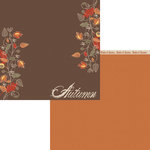 Moxxie - Forever Fall Collection - 12 x 12 Double Sided Paper - Autumn