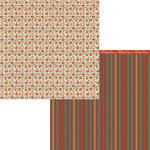 Moxxie - Forever Fall Collection - 12 x 12 Double Sided Paper - Foliage