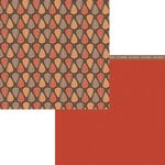 Moxxie - Forever Fall Collection - 12 x 12 Double Sided Paper - Unbeleafable