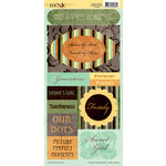 Moxxie - Forever Family Collection - Cardstock Stickers - Elements