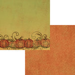 Moxxie - Fall Harvest Collection - 12 x 12 Double Sided Paper - Perfect Pick