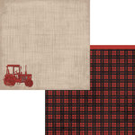 Moxxie - Farm Life Collection - 12 x 12 Double Sided Paper - In the Fields