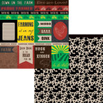 Moxxie - Farm Life Collection - 12 x 12 Double Sided Paper - Farm Cutouts