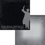 Moxxie - Graduation Collection - 12 x 12 Double Sided Paper - Graduate